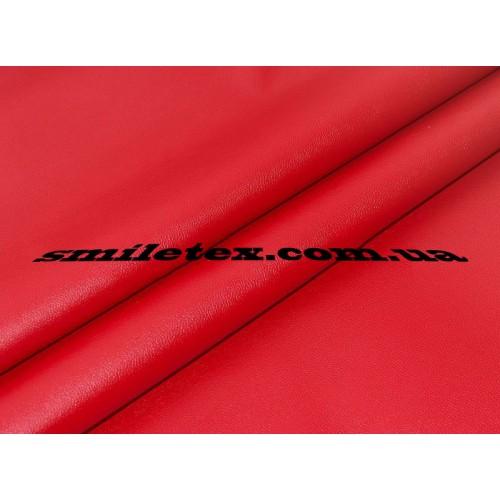 Кожа на замшевой основе (Красный)