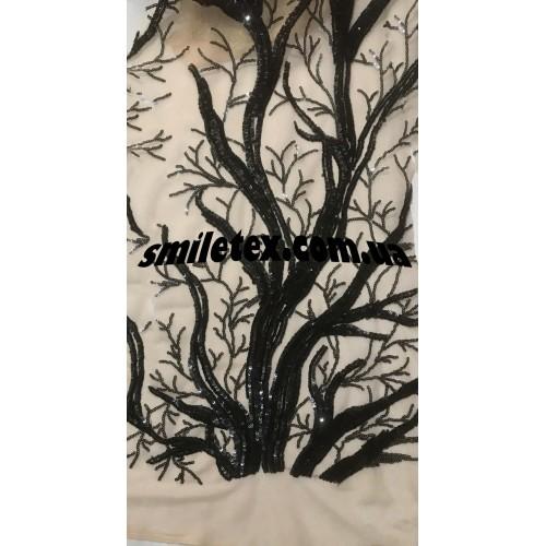Пайеточная Ткань (Дерево)