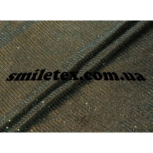 Трикотаж хамелеон (медный)