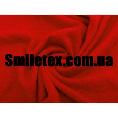 Трикотаж Ангора Арктика (Красный)