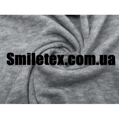 Трикотаж Ангора Арктика (Серый Меланж)