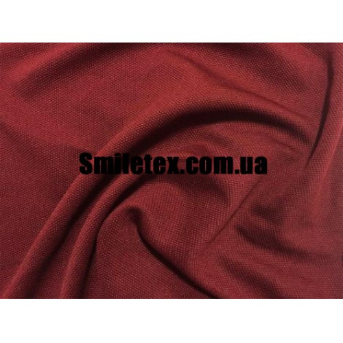 Трикотаж Соты (Бордовый)
