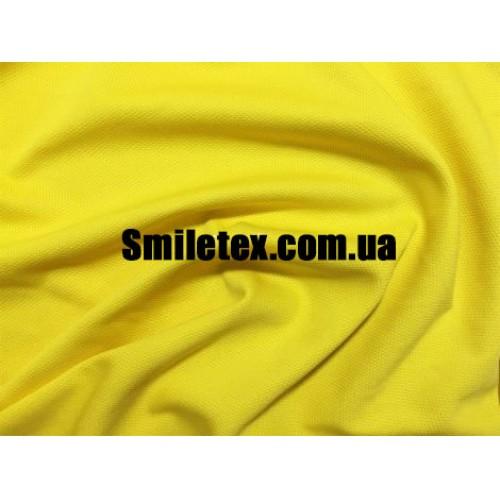 Трикотаж Соты (Жёлтый)