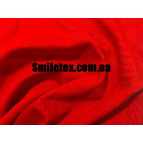 Трикотаж Соты (Красный)