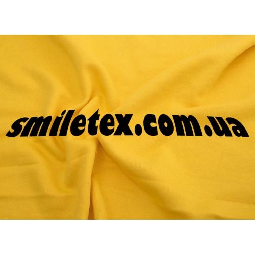 Ткань  Трехнитка Петля (Желтый) 7147