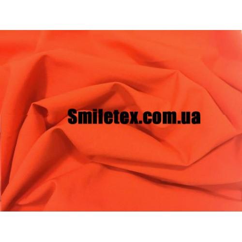 Креп Шелк (Оранжевый)