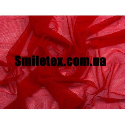 Стрейч Сетка (Красный )