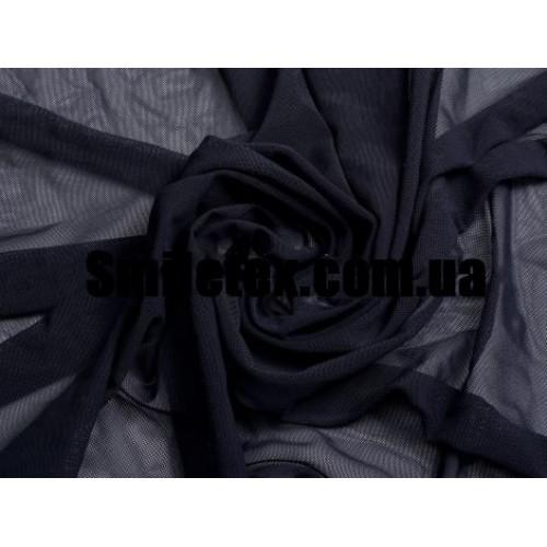 Стрейч Сетка (Тёмно Синий)
