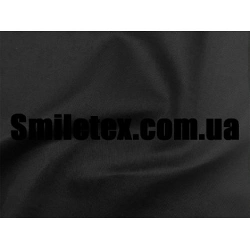 Ткань Саржа (Чёрный)