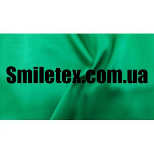 Креп Сатин. Цвет Зеленый
