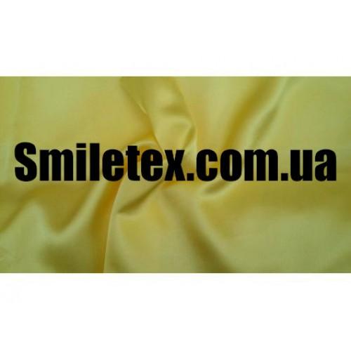 Креп Сатин. Цвет Желтый